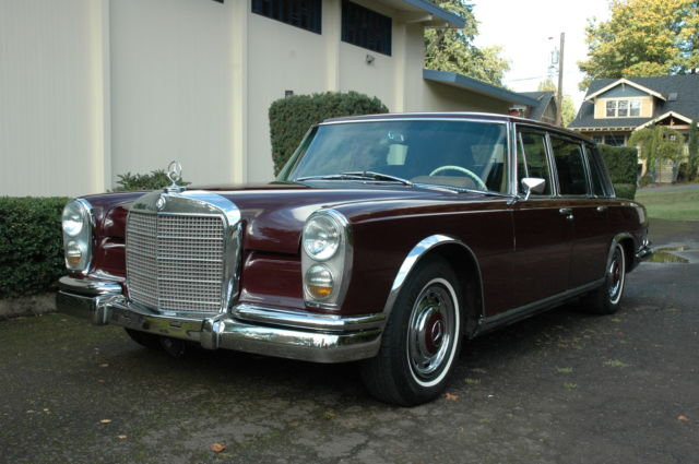 1966 Mercedes-Benz 600-Series SWB LIMO