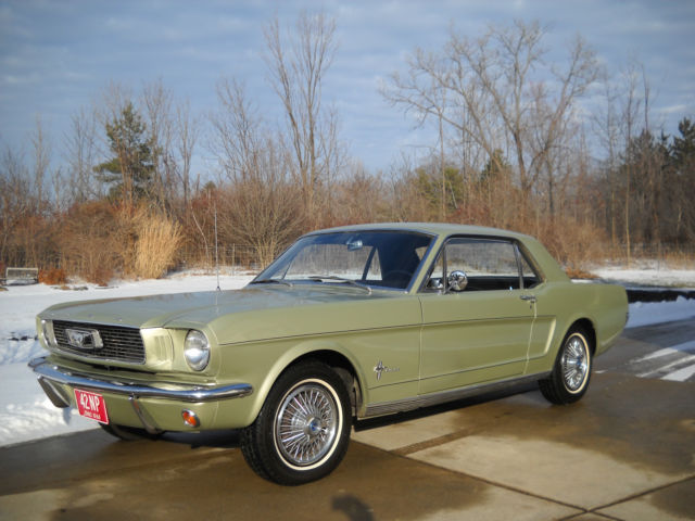 1966 Ford Mustang Ultra Low Mile 24k