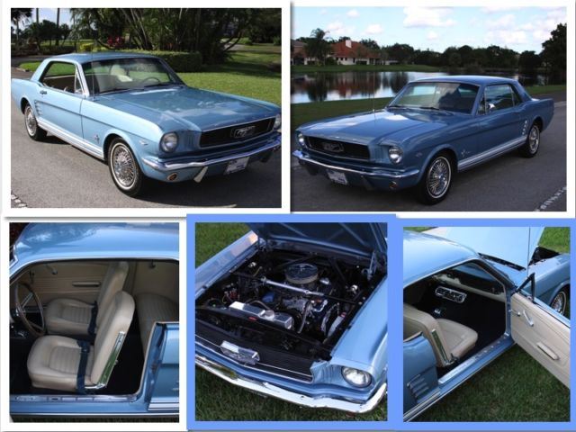 1966 Ford Mustang C Code
