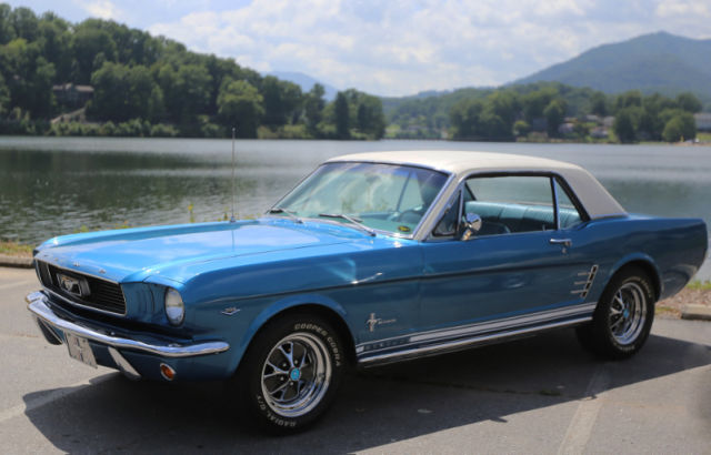 1966 Mustang Coupe CCode Pony Package for sale photos technical