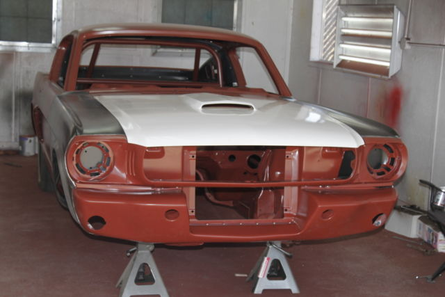 1966 Mustang Coupe To Fastback Conversion Project Car For Sale