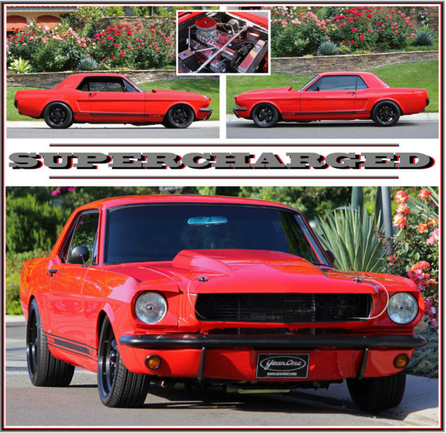 Ford Mustang Supercharged South Africa: 1966 MUSTANG PRO TOURING SUPERCHARGED TREMEC 5 SPEED