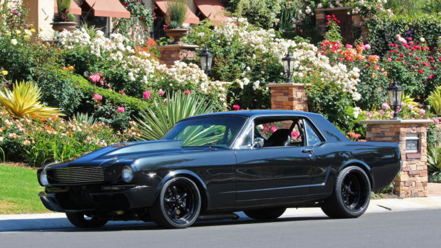 1966 Ford Mustang PRO TOURING SUPERCHARGED  -  VIDEOS