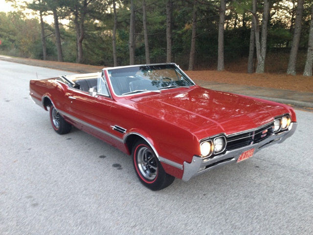 1966 Oldsmobile 442 F-85 Cutlass 4-4-2 Performance Package