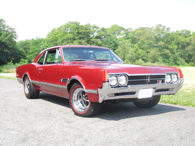 1966 Olds 442 Tri-Carb (L-69) 4-speed post coupe for sale