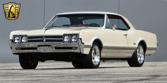 1966 Oldsmobile Cutlass 95470 Miles Almond Coupe 330 CID V8
