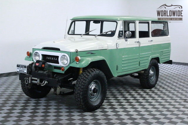 1966 Toyota Land Cruiser LV RESTORED 1 OF 100 V8 AC COLLECTOR