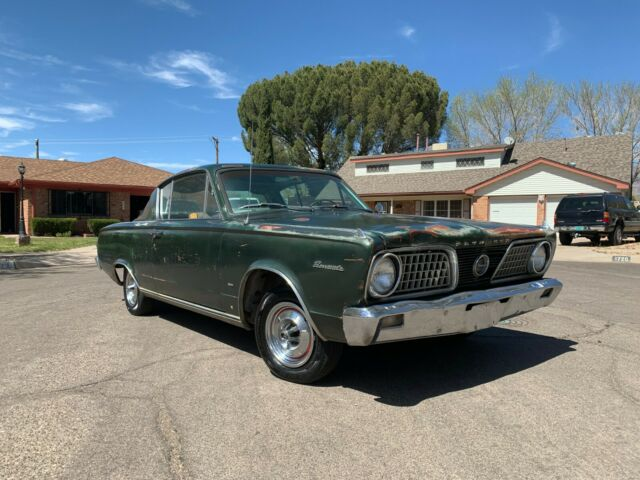 1966 Plymouth Barracuda 273 V8 4 speed New Mexico car for