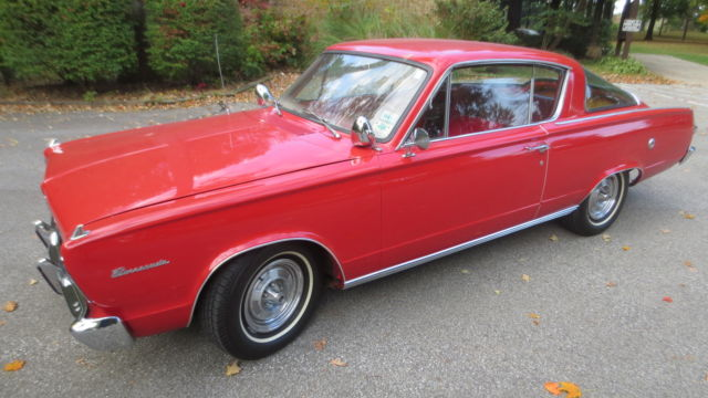 1966 Plymouth Barracuda Base Package