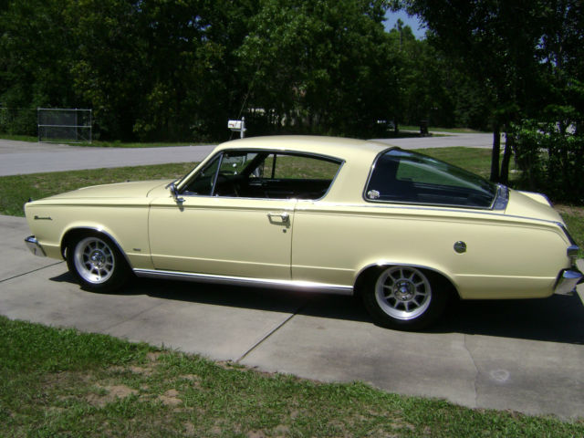 1966 Plymouth Barracuda SPT HT