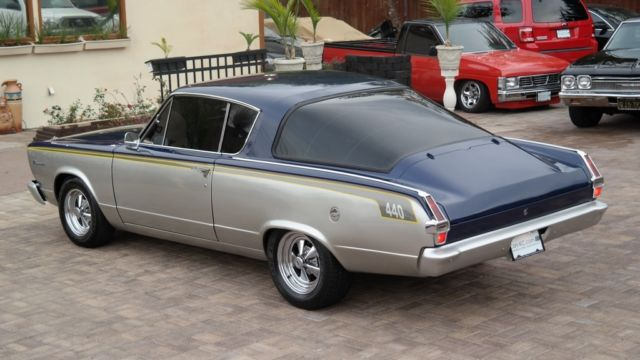 1966 Plymouth Barracuda Coupe Sport____