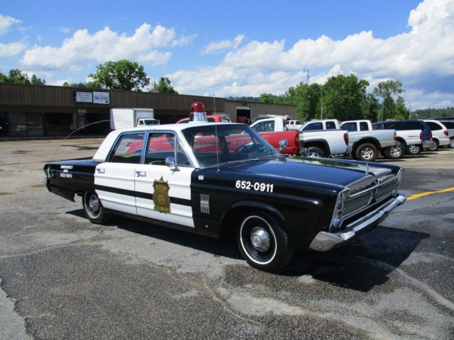 1966 Plymouth Fury III Police Car Rare Hard To Find Working Lights