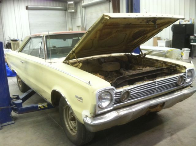 1966 Plymouth Satellite satellite