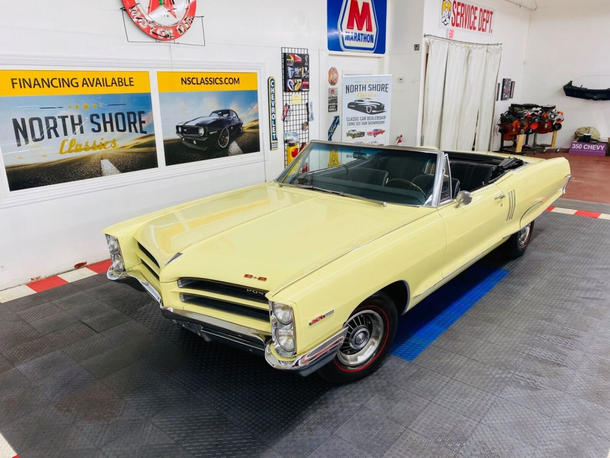 1966 Pontiac 2+2 Convertible - SEE VIDEO