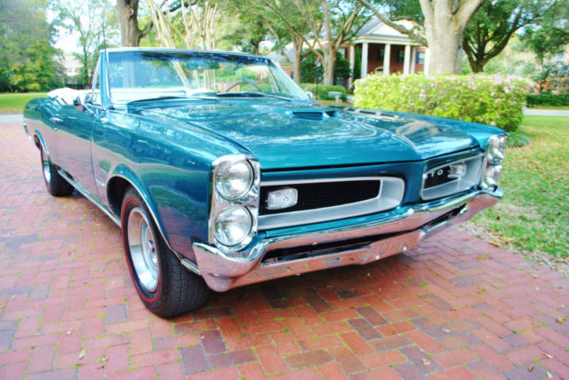 1966 Pontiac GTO Convertible 389 V8 Fully Restored Build Sheet PHS
