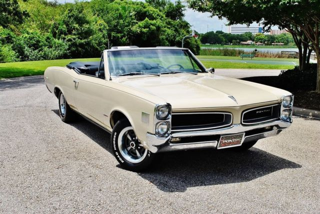 1966 Pontiac Lemans Convertible 326 HO Pristine Show Car Documented