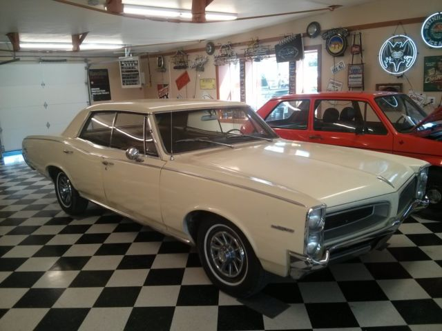 1966 Pontiac Tempest Factory A/C Nice Old Car For Sale