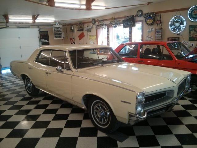 1966 Pontiac Tempest Factory A/C Nice Old Car For Sale