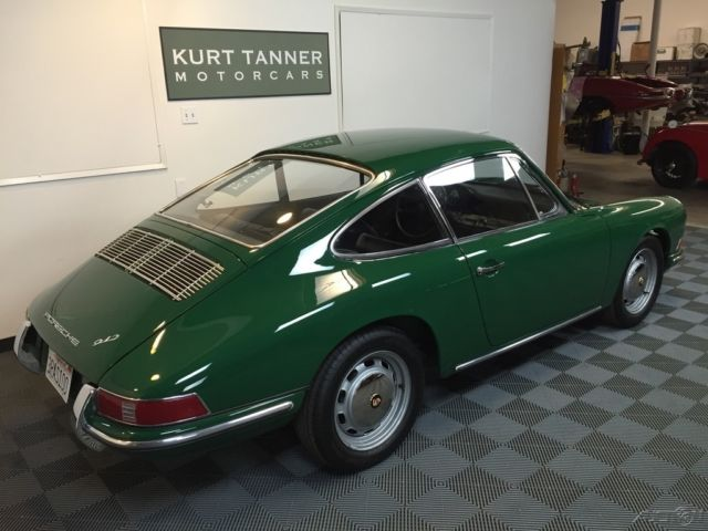 1966 porsche 912 coupe irish green with black trim 4 speed excellent ca car for sale photos. Black Bedroom Furniture Sets. Home Design Ideas