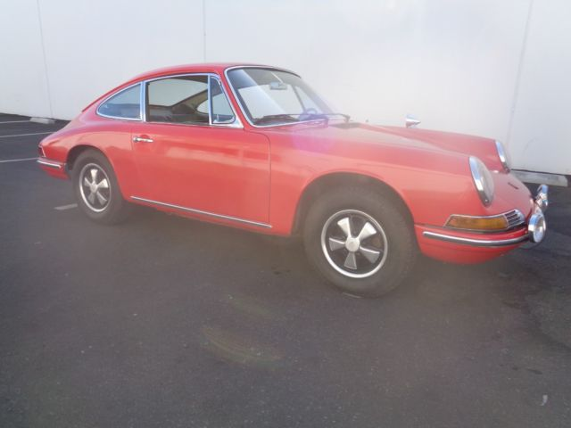 1966 Porsche 912 Same Owner Past 45 Years Service Record Fuchs