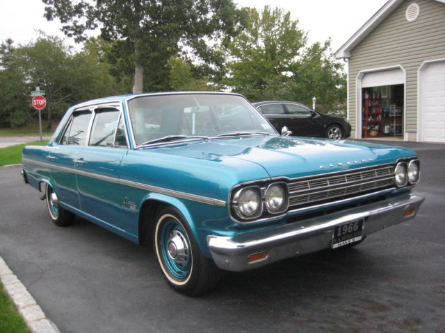 1966 AMC Rambler Classic 770  4 door sedan
