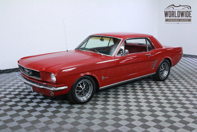 1966 Ford Mustang FUEL INJECTED 5.0L WITH AC