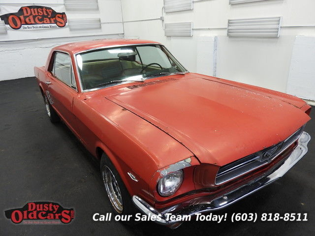 1966 Ford Mustang Parts Car 289V8 3 spd auto engine does not run