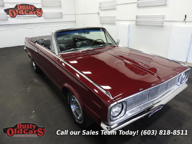 1966 Dodge Dart Runs Drives Body Inter VGood 340V8 3spd auto