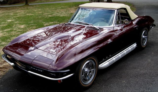 1966 Chevrolet Corvette Roadster 427/425hp