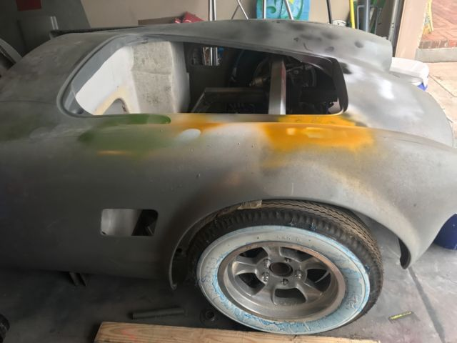 1966 Shelby Cobra kit car roller project car for sale