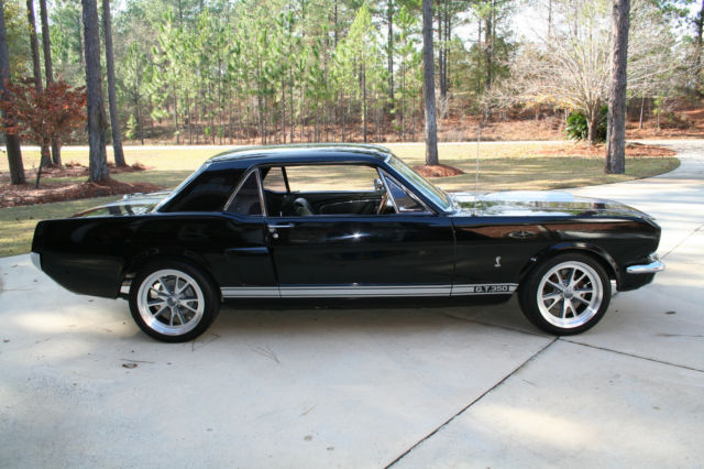 1966 Shelby Mustang 289 Cu In Automatic Black On Black