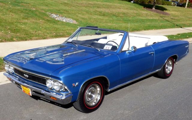 1966 Chevrolet Chevelle SS396 Convertible