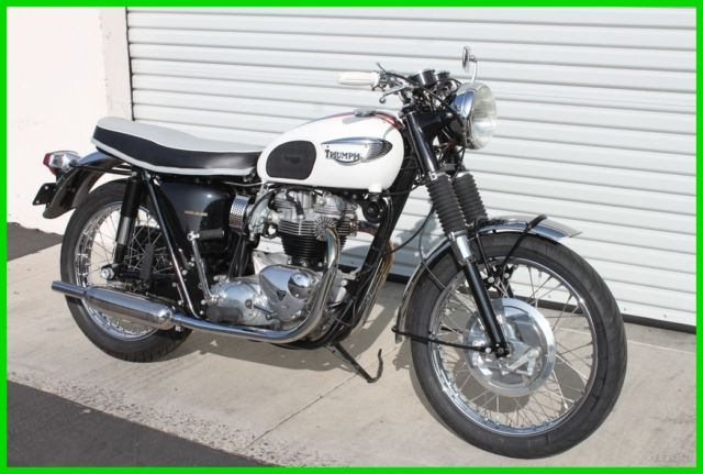 1966 Triumph Bonneville T120r Base Motorcycle Fully Restored For
