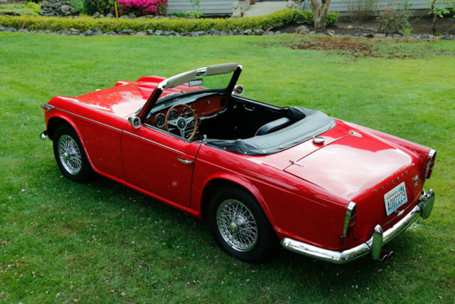1966 Triumph Other TR4-A