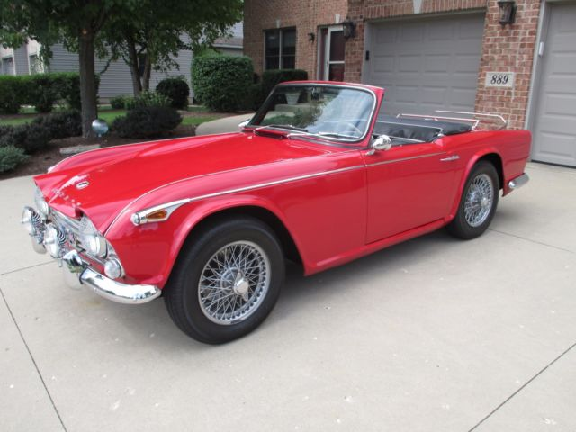 1966 Triumph Other TR4A IRS