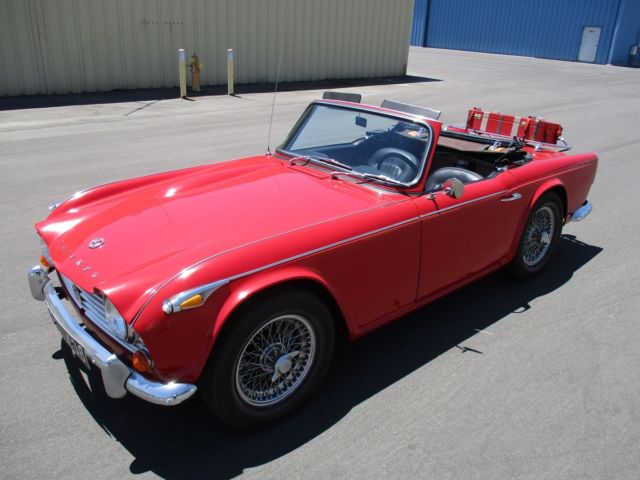 1966 Triumph TR4A IRS Rust-Free California Car