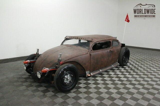 1966 Volkswagen Beetle 4 Year Build Art Car Rat Rod Show