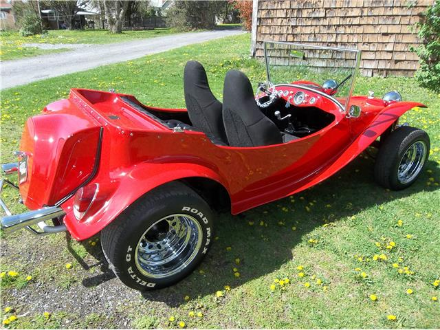 1966 Red Volkswagen baja dune buggy -- -- with Black interior
