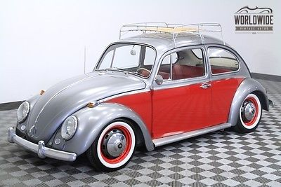 1966 Volkswagen Beetle - Classic Extensive Restoration. Rare Accessories.