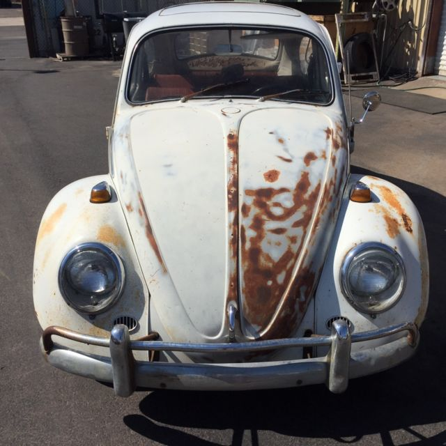 Volkswagen Bug For Sale: 1966 Volkswagen Sunroof Beetle Matching Numbers 1300cc VW