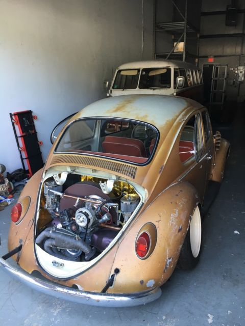vw bug rat rod wolkswagen beetle super beetle bug  sale  technical