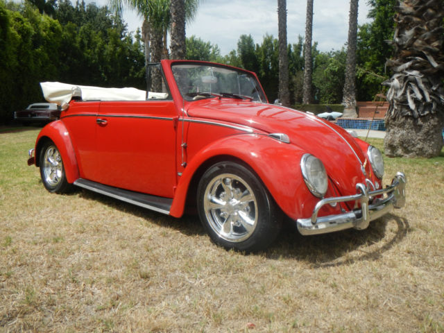 1966 vw convertible bug california style very nice car for sale photos technical. Black Bedroom Furniture Sets. Home Design Ideas