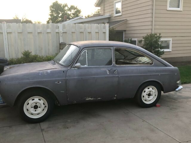 1966 VW Type 3 Fastback Project for sale: photos, technical