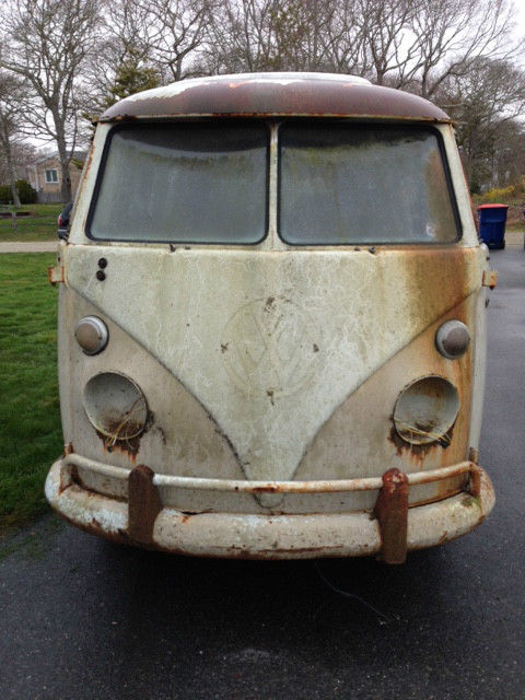 1966 Volkswagen Bus/Vanagon Camper Pop Top  walk through Westy