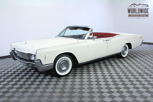 1966 Lincoln Continental CONVERTIBLE RESTORED COLLECTOR GRADE