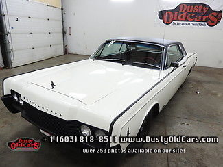 1966 Lincoln Continental Runs Drives Body Interior Excel 462V8