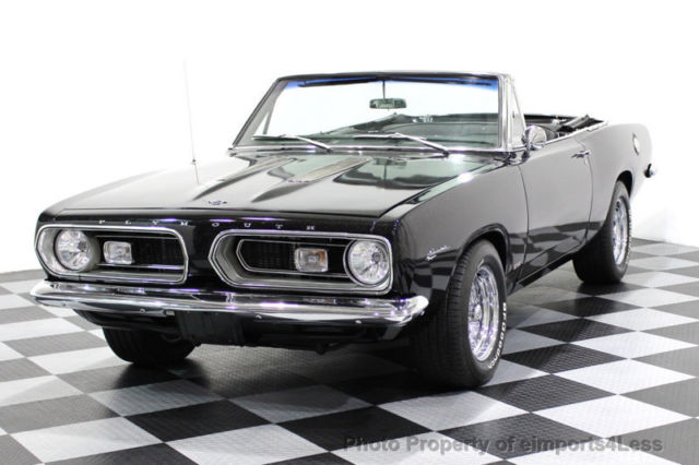 1967 Plymouth Barracuda BARRACUDA RESTOMOD 5 SPEED MANUAL TRANS