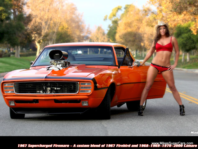 1967 68 69 70 2000 Firebird Camaro Supercharged 1 Of A