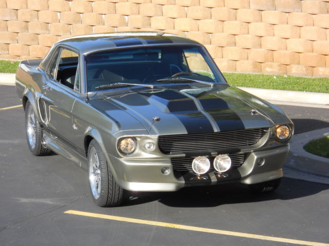 1967 Ford Mustang Completely Restored Eleanor Mustang Coupe