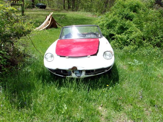1967 Alfa Romeo Quot Duetto Quot Boattail Spider Project For Sale